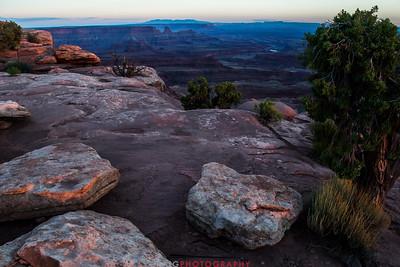 Dead Horse Point Sunset Moab Utah
