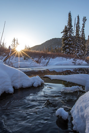 Sunrise in Big Cottonwood Canyon 2