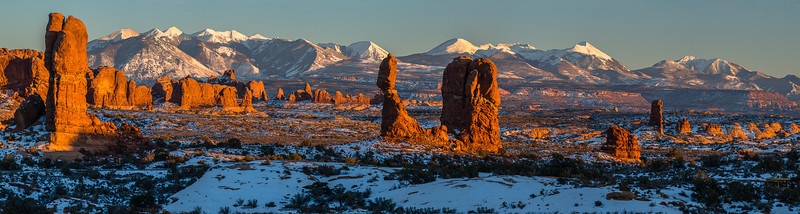 Winter In Arches National Park
