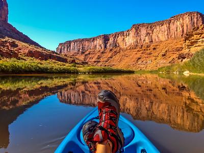 Kayaking the Colorado River