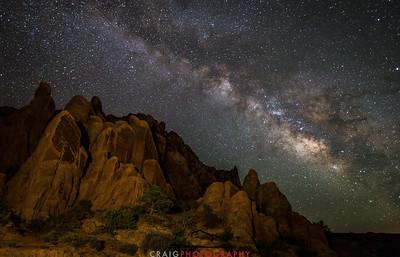 Milky Way near Moab Utah 3