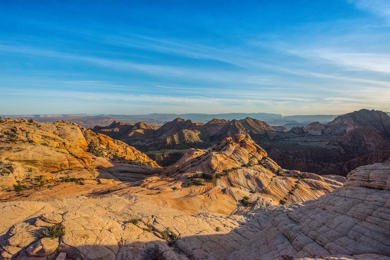 Want Flat, overlooking St. George, Utah