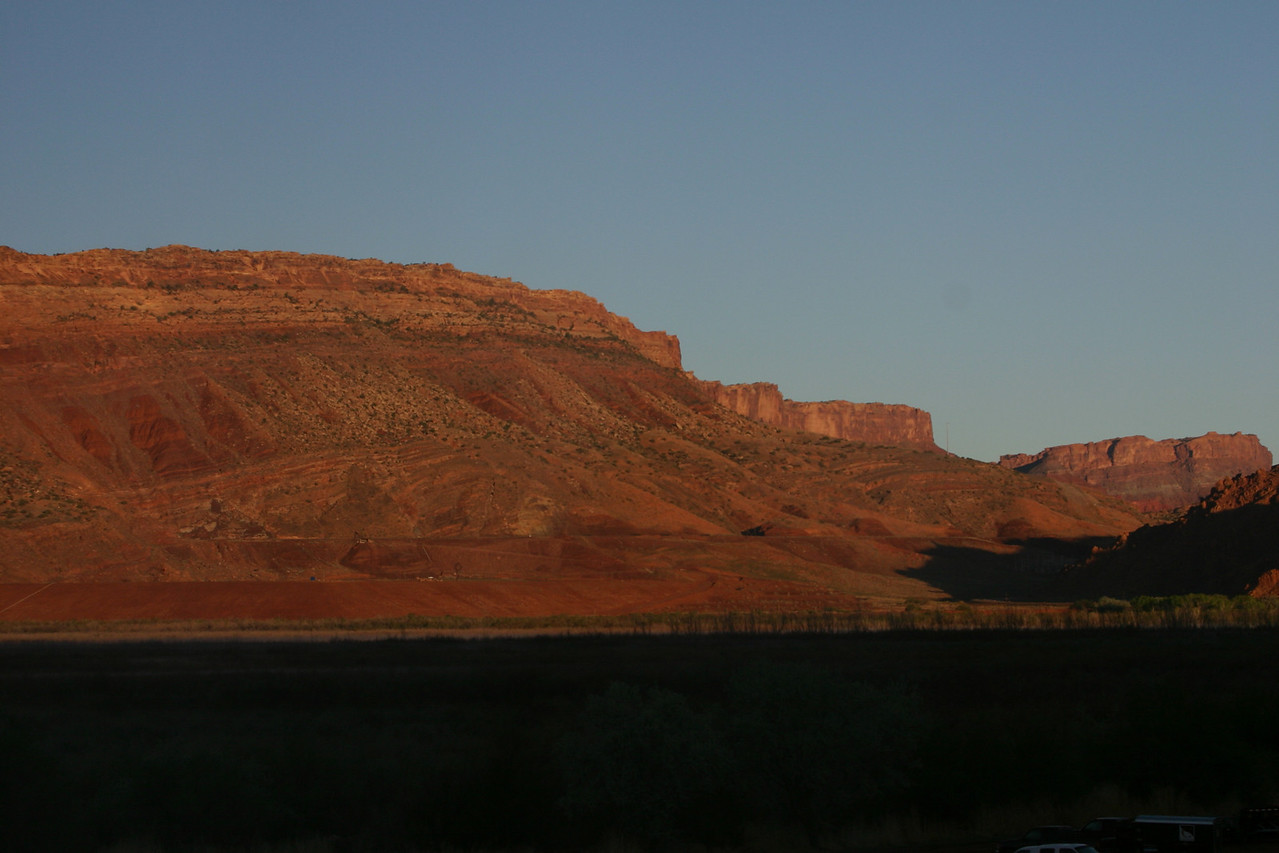 Sunset in Moab