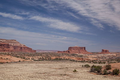 The Monitor and the Merrimac, West of Moab, Utah.