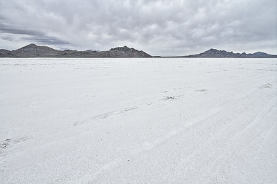 Bonneville Salt Flats in Utah