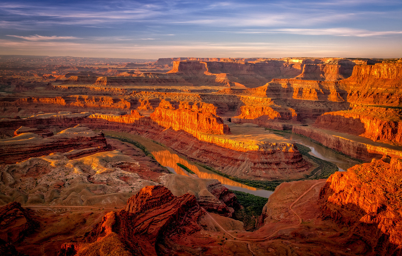 Deadhorse Point in Canyonlands