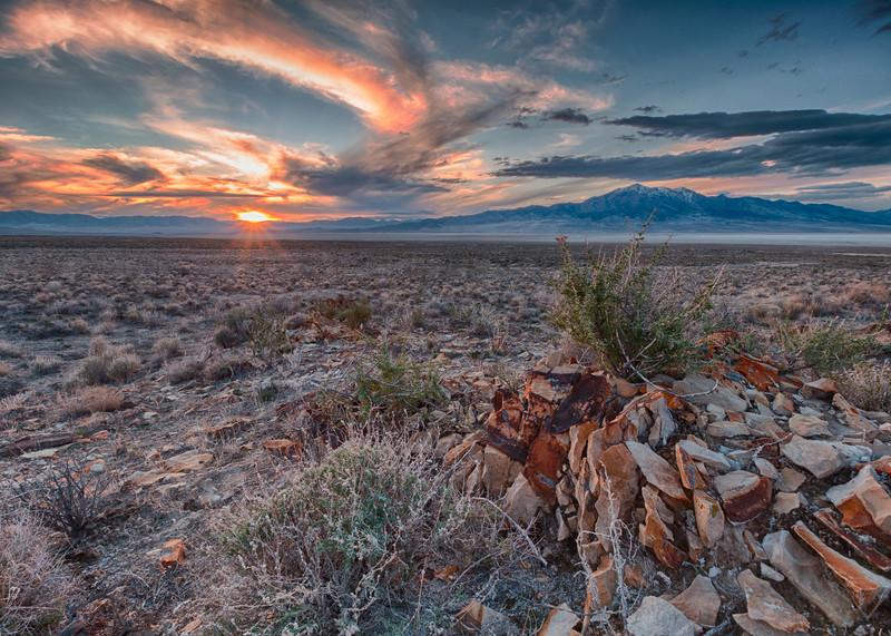 Great Salt Lake Desert Sunset