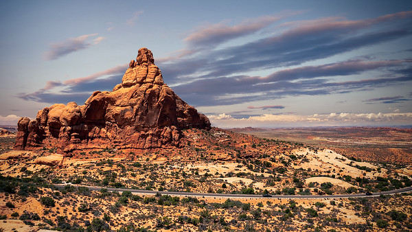 Inside Arches National