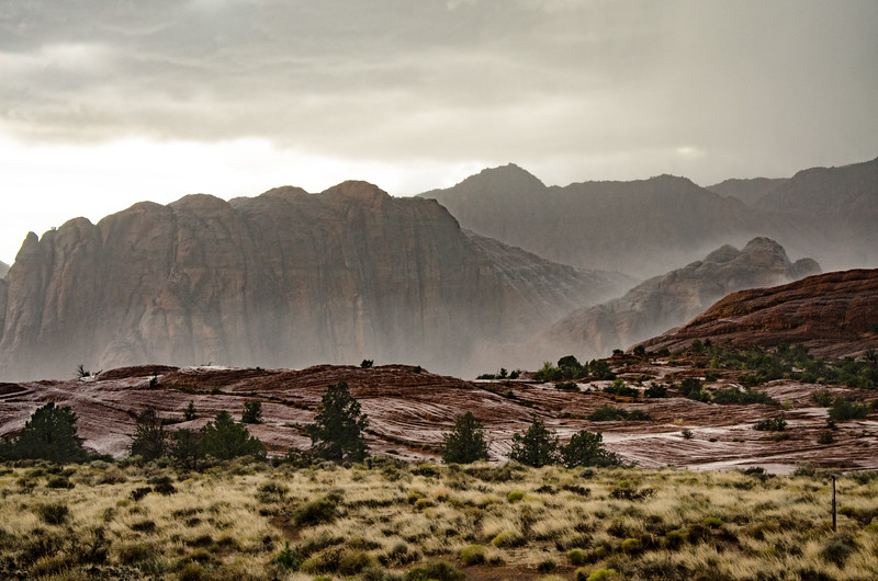 Snow Canyon Down Pour