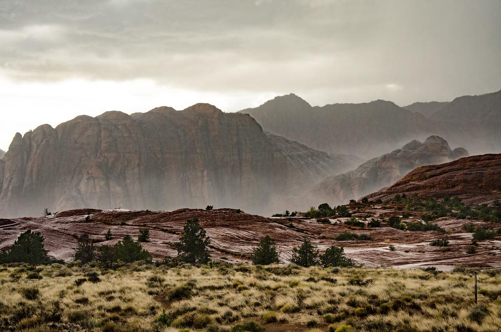 Snow Canyon Down Pour