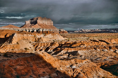 Storm Over Wildhorse Butte, UT