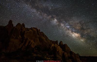 Milky Way near Moab Utah 2