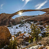 Sunburst at Landscape Arch