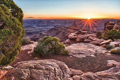 Deadhorse Point at Sunset