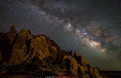 Milky Way near Moab Utah 1