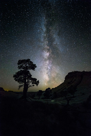 Milky Way over the Escalante Desert