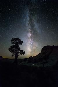 Milky Way over the Escalante Desert