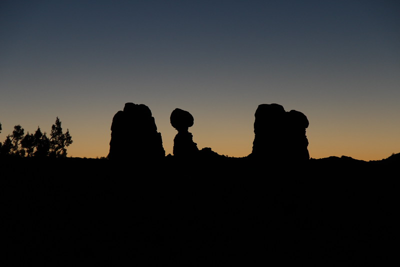 Silhouetted Stone
