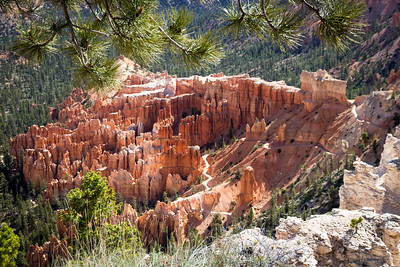 Peekaboo Trail at Bryce Canyon