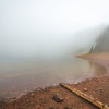 Fog at Desolation Lake