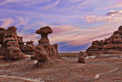 Goblin Valley  Sunrise, Utah