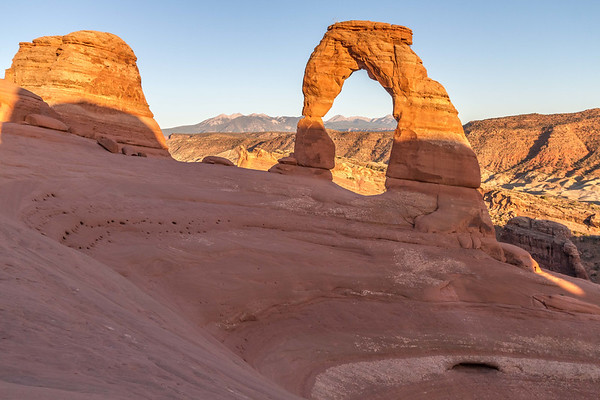 Sunset at Delicate Arch, Arches National Park, Utah