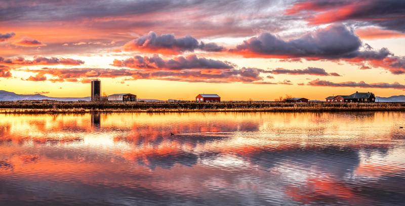 Farmington Bay Sunset