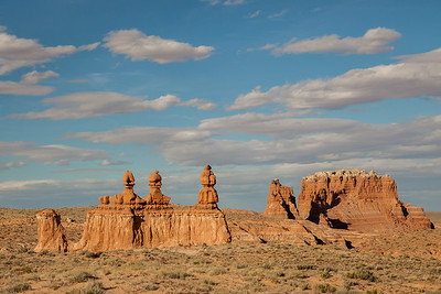 Hoodoos locally known as goblins at Goblin Valley State Park, Utah.