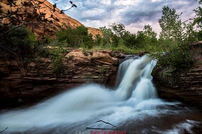 Mill Creek Falls Moab Utah 3