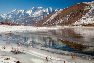 Deer Creek Reservoir & Mount Timpanogos
