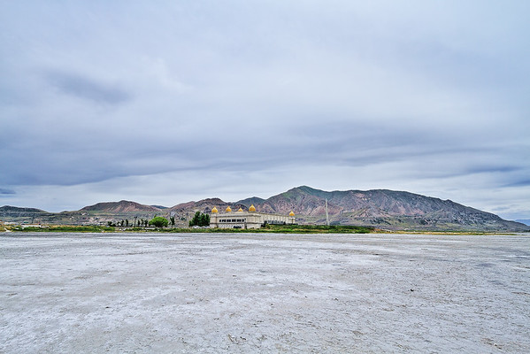 Saltair near the Great Salt Lake in Utah