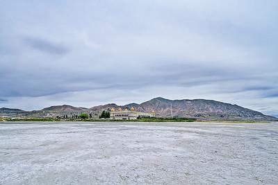 Saltair near the Great Salt Lake in Utah