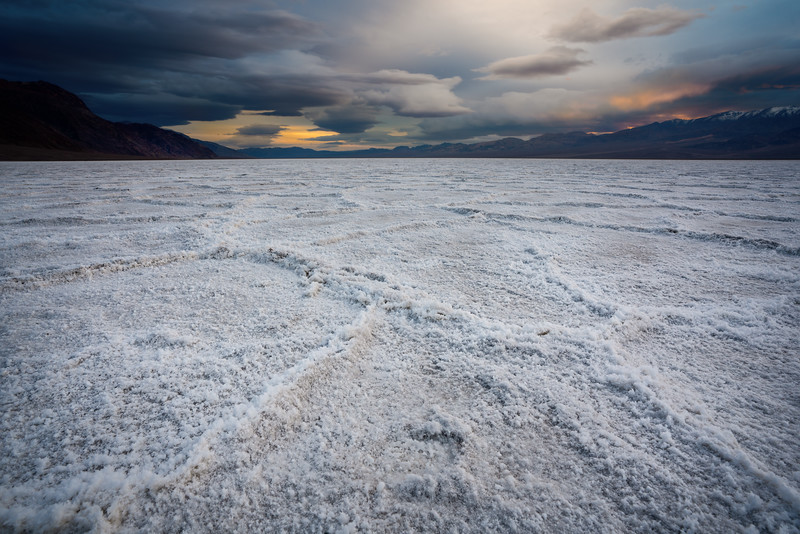 Death Valley, NV Salt Flats