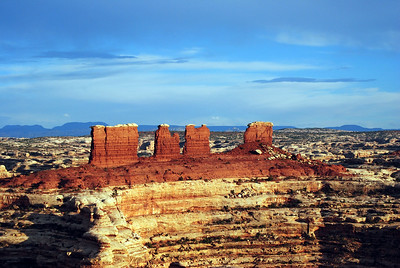 The Chocolate Drops. Maze District, Canyonlands National Park, Utah