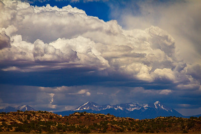 Approaching Storm in Moab
