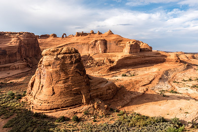 Delicate Arch Canyon
