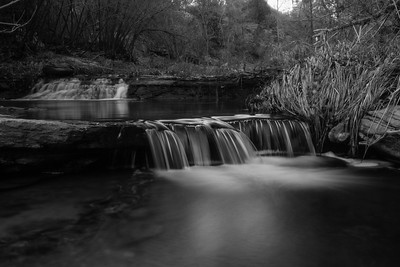 Monochrome Falls