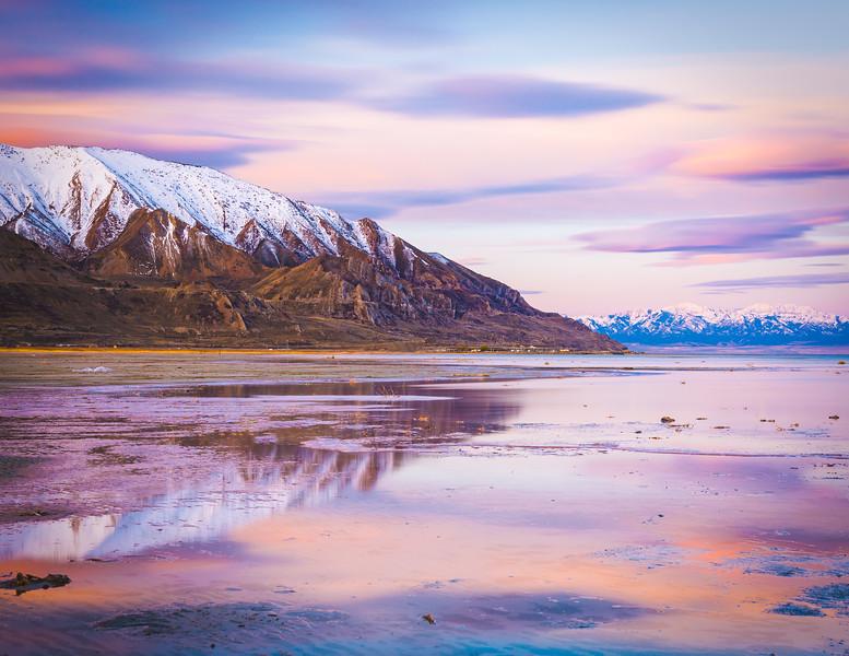 Great Salt Lake Sunrise
