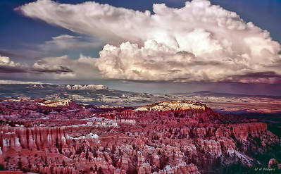 Storm Over Bryce Canyon, Utah