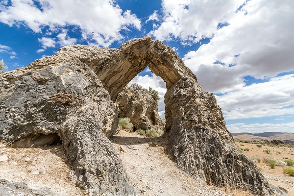 Chinese Arch, Golden Spike National Historic Site, Utah