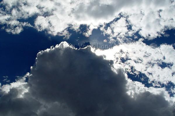 Summer Sky over Kodachrome Basin, UT