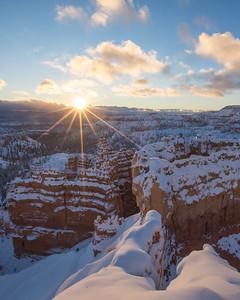 Bryce Canyon Sunburst