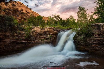 Mill Creek Falls Moab Utah 5