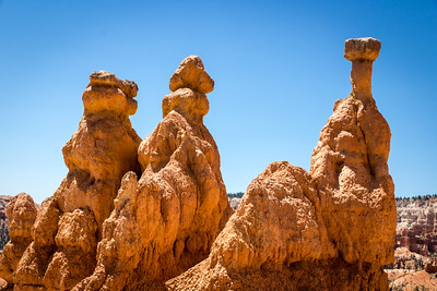 Up Close with the Hoodoos