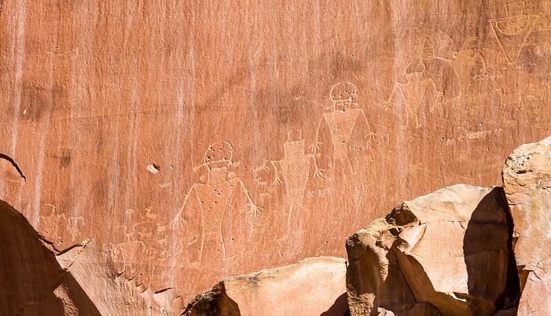 Petroglyphs, Capitol Reef National Park