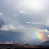 Rainbow near Zion National Park