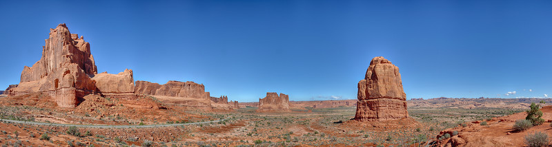 Arches National Park, Utah, panorama