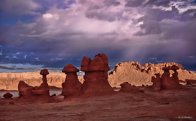 Goblin Valley Sunset, Utah