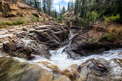 Slate Gorge Waterfall