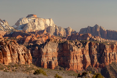 Zion National Park, Kolob Canyon Area